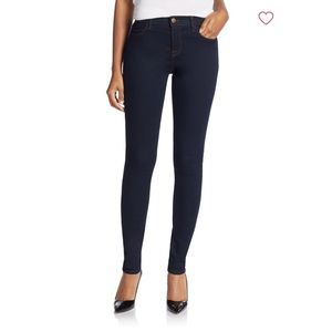 J Brand Maria Super High-Rise Skinny Jeans Ink 25